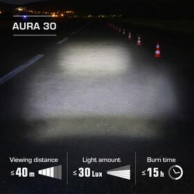 SIGMA SPORT Aura 30/Curve Lys sæt
